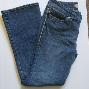 BKE denim jeans Addison 29R boot cut  Flap pockets